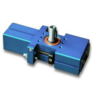 Attuatore rotante pneumatico a 3 posizioni